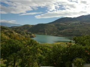 Beznar reservoir