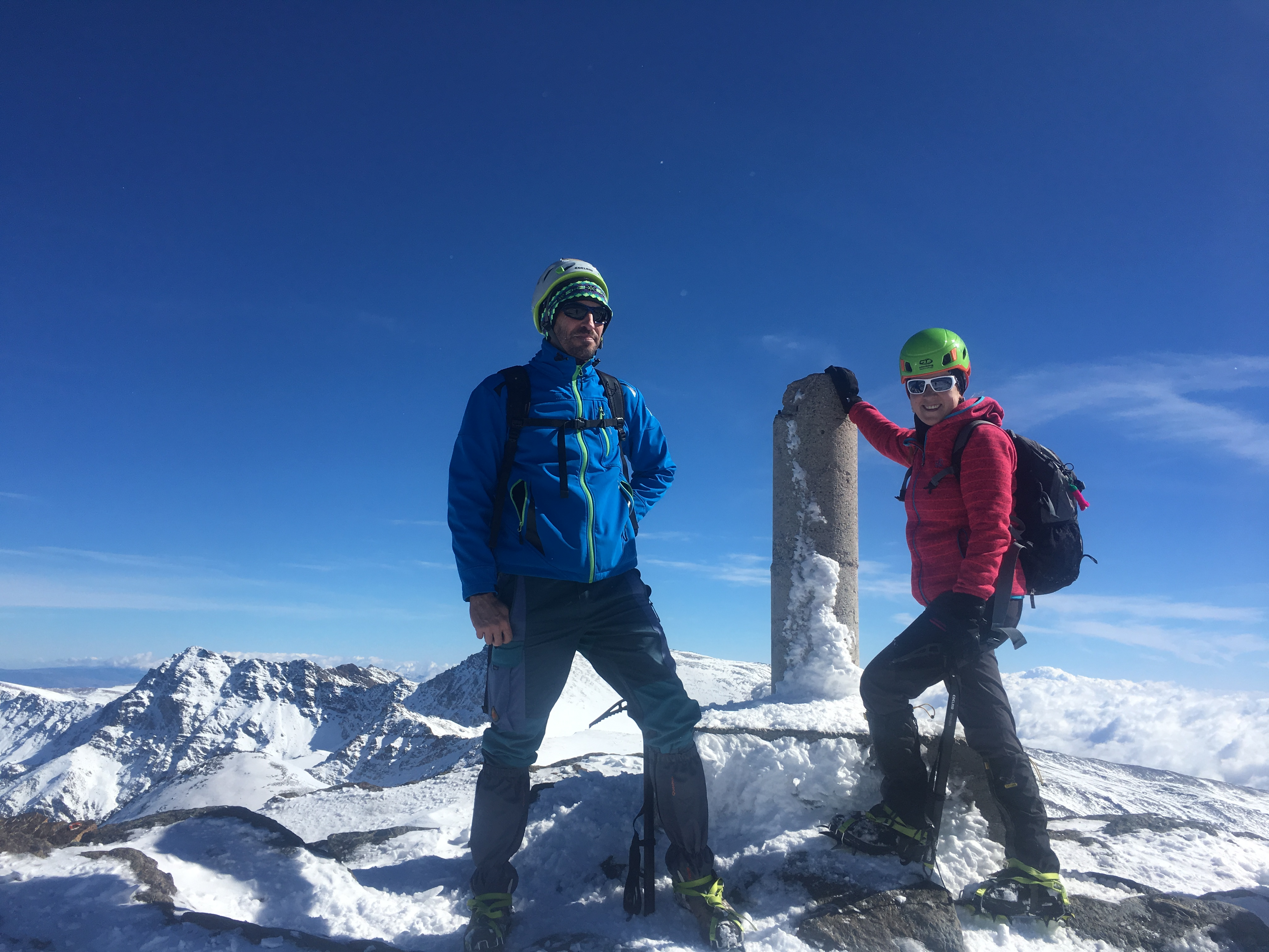 Winter Ascent of Veleta