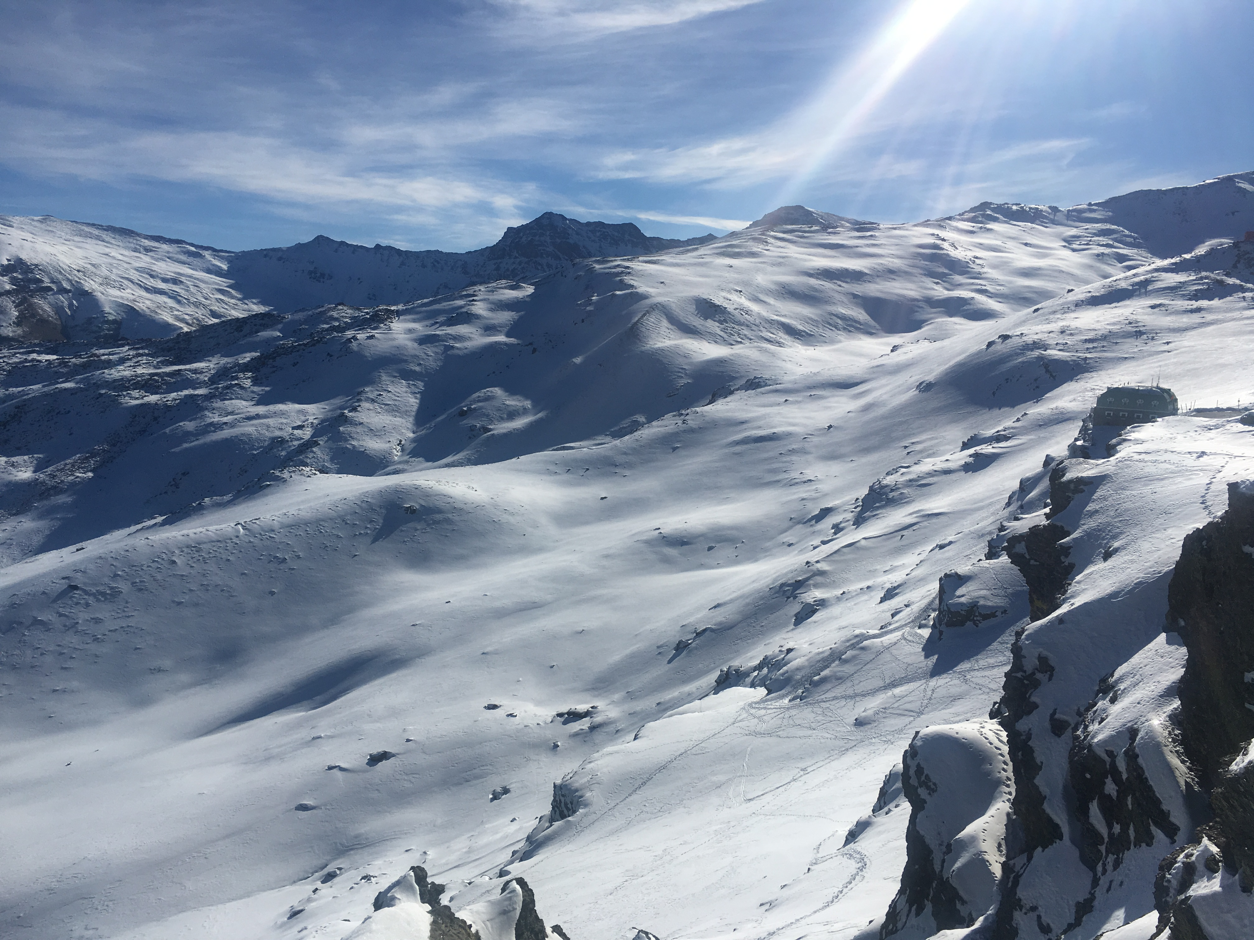 Winter ascent of Mulhacén
