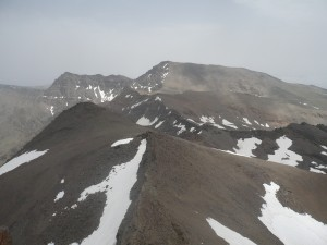 View from top of Veleta
