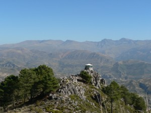 View from the Viznar Cross