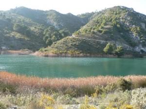 Cueva de Funes reservoir