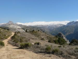 View on the way to Boca de la Pesca