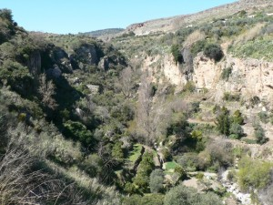 Río Saleres, near Albuñuelas, Lecrín Valley
